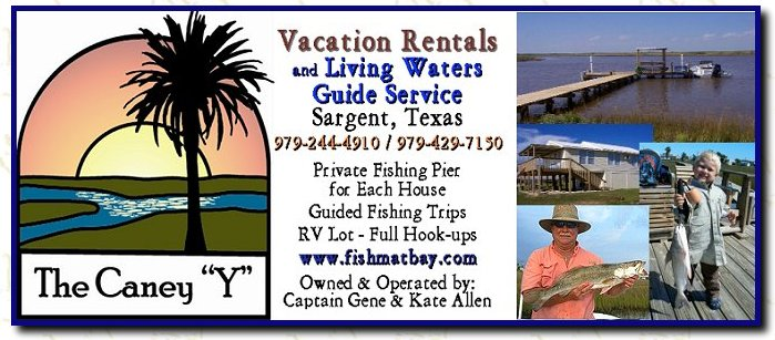 "Click here for The Caney ""Y""  Vacation Rentals and Living Waters Guide Service"